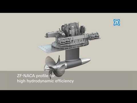 ZF Marine product film: ZF POD 4000, 2011 (en)