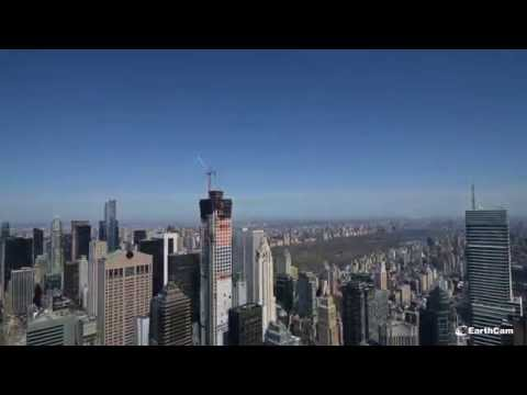 432 Park Avenue, New York City - timelapse of construction