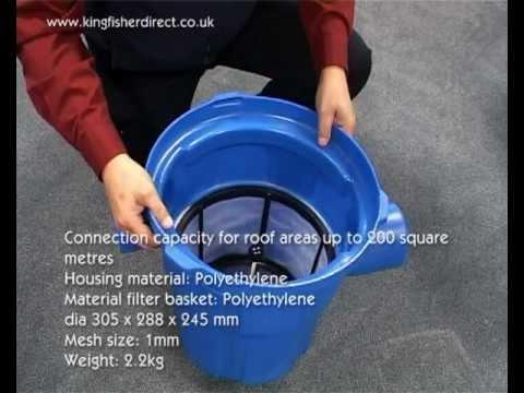 3p Garden Water Filter Rainwater Harvesting