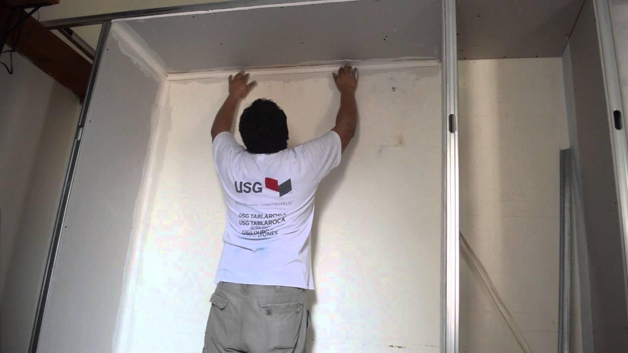 Como Facilitar la construcción de muebles de tablaroca (drywall ...