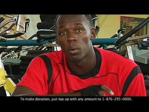 Usain Bolt - Digicel Haiti Relief Fund