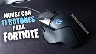 THE BEST MOUSE GAMER FOR FORTNITE? Logitech G502 WITH 11 BUTTONS!
