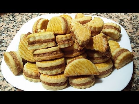 gâteau-sablé-arachide-et-cacahuète-facile-et-rapid-aïd-eid-al-fitr-2018-cuisine-marocaine-113