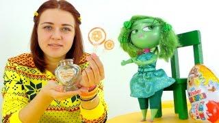 Видео для детей. Брезгливость и бутылочка желаний.(Новая серия видео для девочек с героями мультфильма