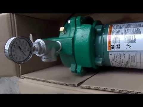 Installing a Myers HJ100S 1 HP Well Pump