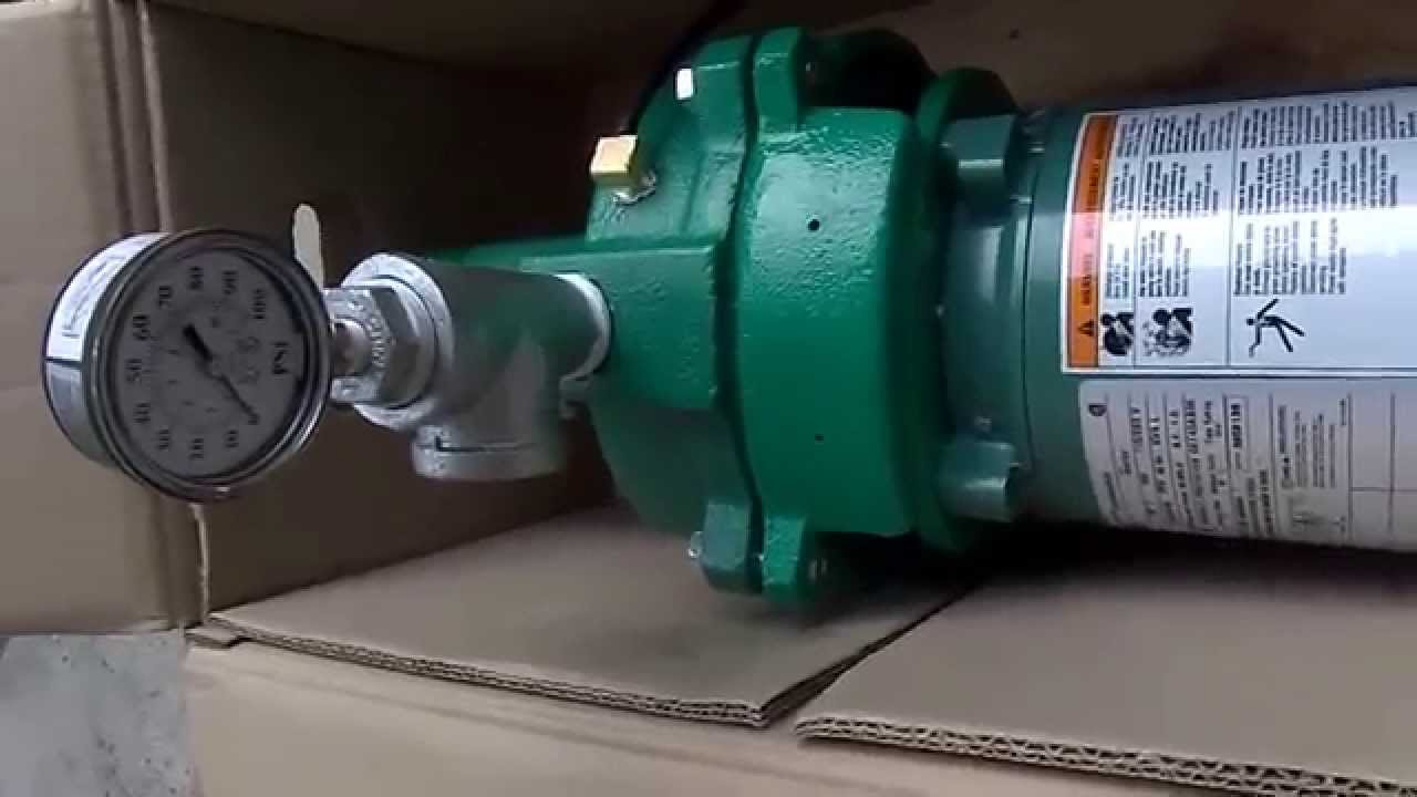 hight resolution of installing a myers hj100s 1 hp well pump youtubeinstalling a myers hj100s 1 hp well pump