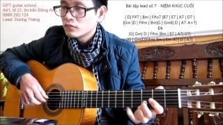 NIỆM KHÚC CUỐI ( Bài tập Lead  guitar # 7)