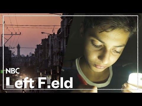 Growing up in Gaza in the Dark | NBC Left Field