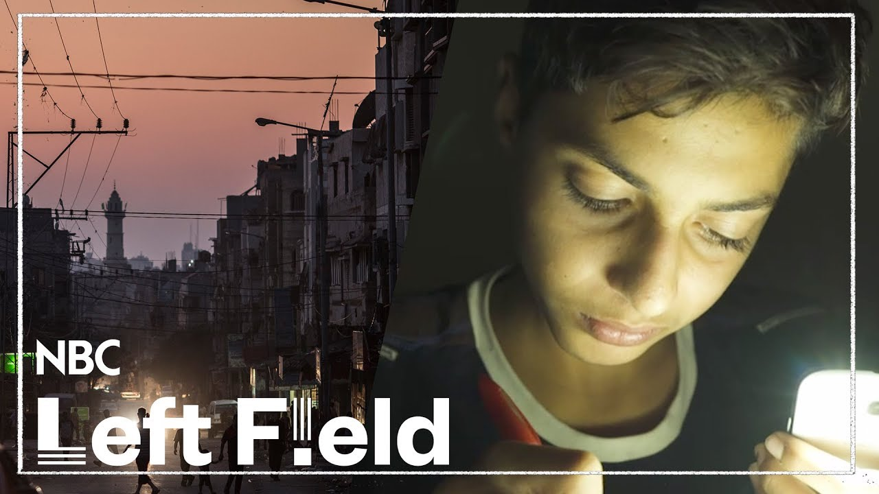 Growing up in Gaza in the Dark | NBC Left Field