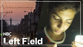 Growing up in Gaza in the Dark   NBC Left Field