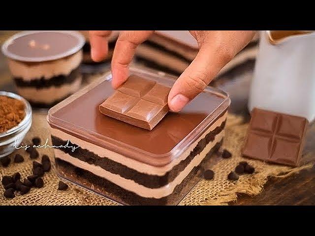 resep dessert box cadbury TERRR..ENAK !! CADBURY DESSERT BOX ALA BITTERSWEET BY NAJLA  IDE