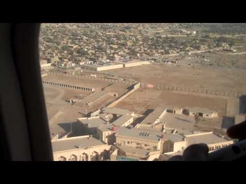 Helicopter from Baghdad Airport to American Embassy