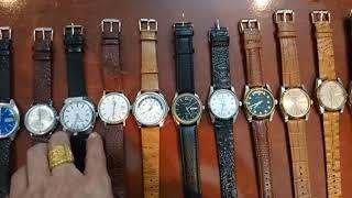 27/3/19. Bán 11 đồng hồ Automatic Thụy sỹ cổ (dây da thân inoc, dơmi) Toàn 0947350055