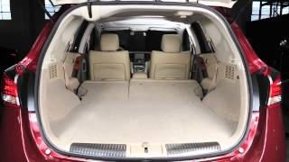2013 NISSAN Murano - Folding Rear Seats (Hardtop Models Only)