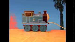Testing Green Screen Technology - For Possible Future Thomas The Tank Engine & Friends Wood Series!