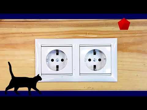 Секреты монтажа скрытой проводки в деревянном доме. Металлический подрозетник