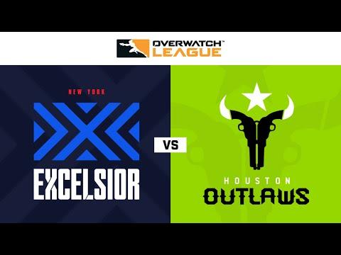 Houston Outlaws vs New York Excelsior vod