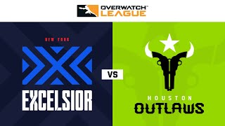 New York Excelsior vs Houston Outlaws | Hosted by Washington Justice | Day 2