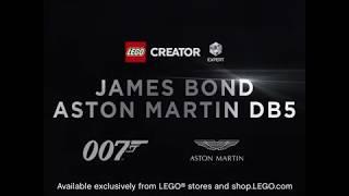 LEGO Creator Expert 10262 James Bond Aston Martin DB5 launch video