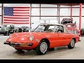 1974 Alfa Romeo Spider Red