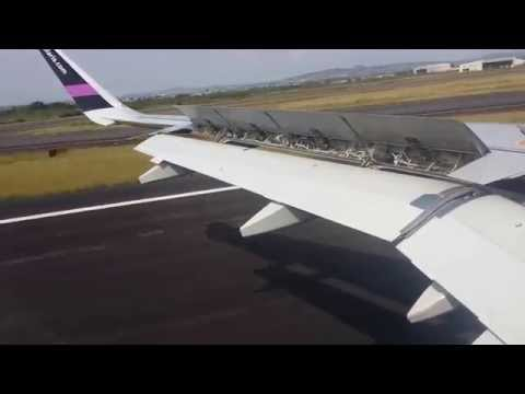 Volaris A320 Landing At Guadalajara,  Mexico