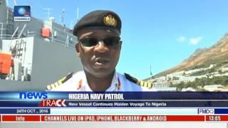 Nigeria Navy Patrol: NNS Unity Berths In South Africa