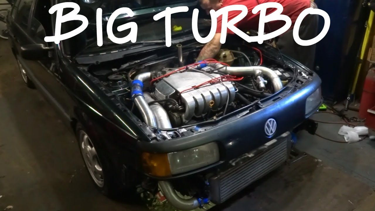 48hr Turbo Build - VR6 Turbo - pte 6776