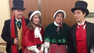 Desert Carolers perform for patients Loma Linda University Surgical Hospital