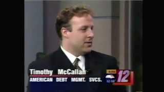 Tim McCallan/Timothy McCallan - Tim McCallan on Channel 12 News Timothy McCallan