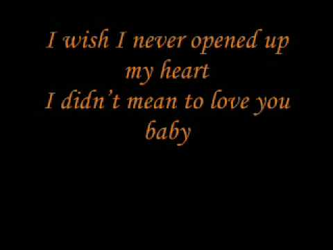 I didn't mean to make you mine (lyrics)-Nina