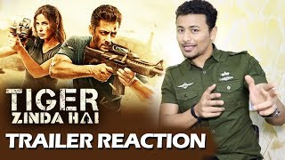 Tiger Zinda Hai TRAILER REACTION | Salman Khan, Katrina Kaif | By Rahul Bhoj
