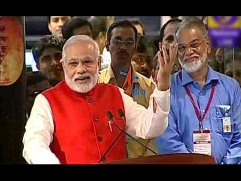 Address by Prime Minister Shri Narendra Modi at ISRO