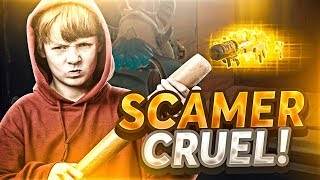 😡SCAMEO to SCAMMER VERY CRUEL☠️ Fortnite Save the World