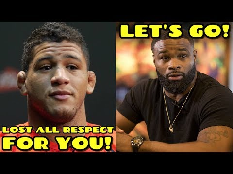 Gilbert Burns BLASTS Tyron Woodley: \