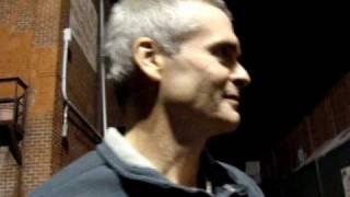 Henry Rollins In Atlanta, Ga 2/28/10 Variety Playhouse (post show)