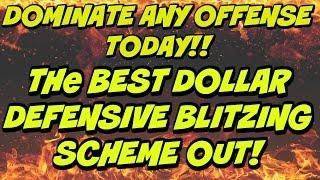 SHUTDOWN ANY OFFENSE! BEST DOLLAR BLITZING SCHEME OUT YET!!   Madden 17 Defensive Money Scheme