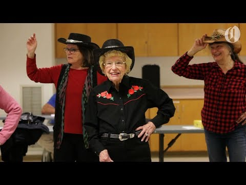 Meet Dottie the 98-year-old line dancer from Beaverton
