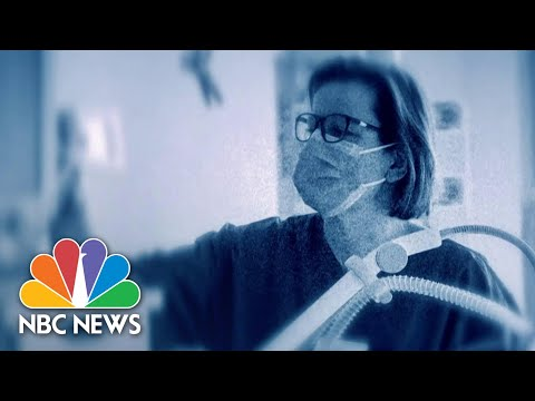 Healthcare Workers Explain How Ventilators Save Coronavirus Patients | NBC Nightly News