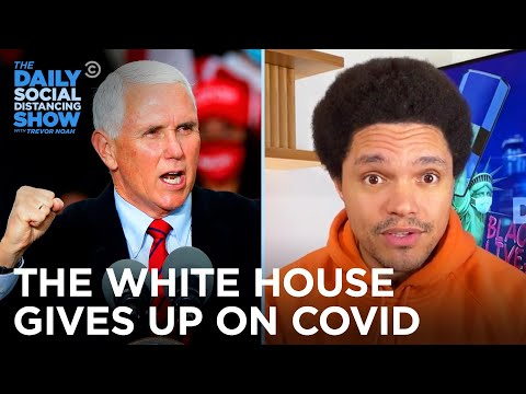 Early Voting Sets Records & The White House Surrenders to Corona   The Daily Social Distancing Show