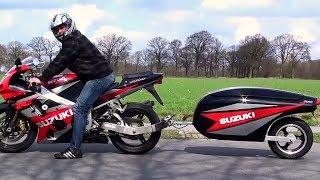 😵 Мотоциклы с Прицепом 👌!