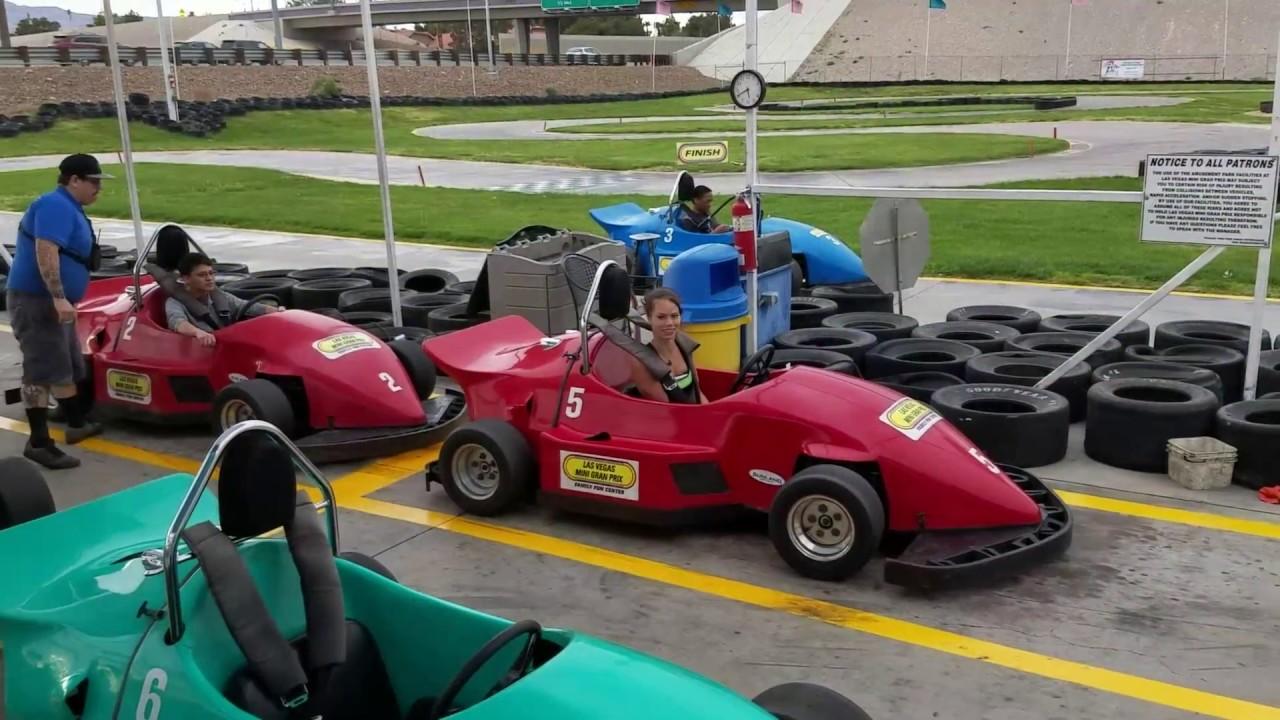 Aleta Go Karting at Las Vegas Mini Gran Prix (Adult Gran Prix ...