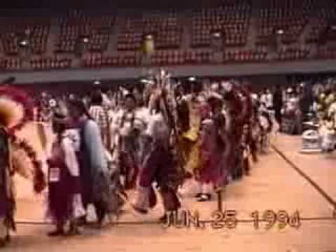 American Indian Film Festival Pow Wow 1994 Grand Entry