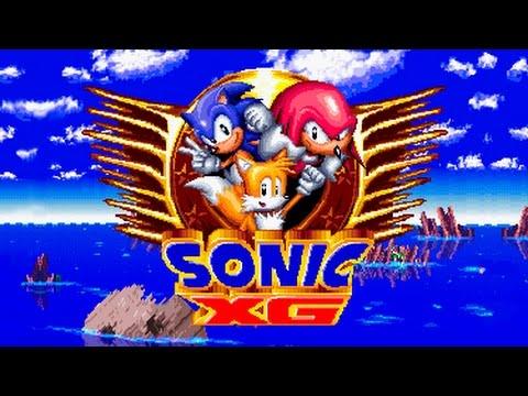 Sonic XG (Demo) - Walkthrough - Fan Game