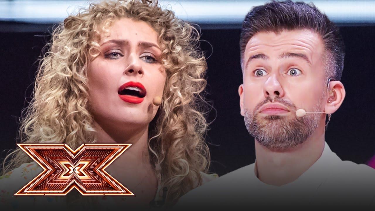 Doamne, ce voce! Loredana e în picioare! Vezi cum a cântat Ana Paula Rada Pantea la X Factor!