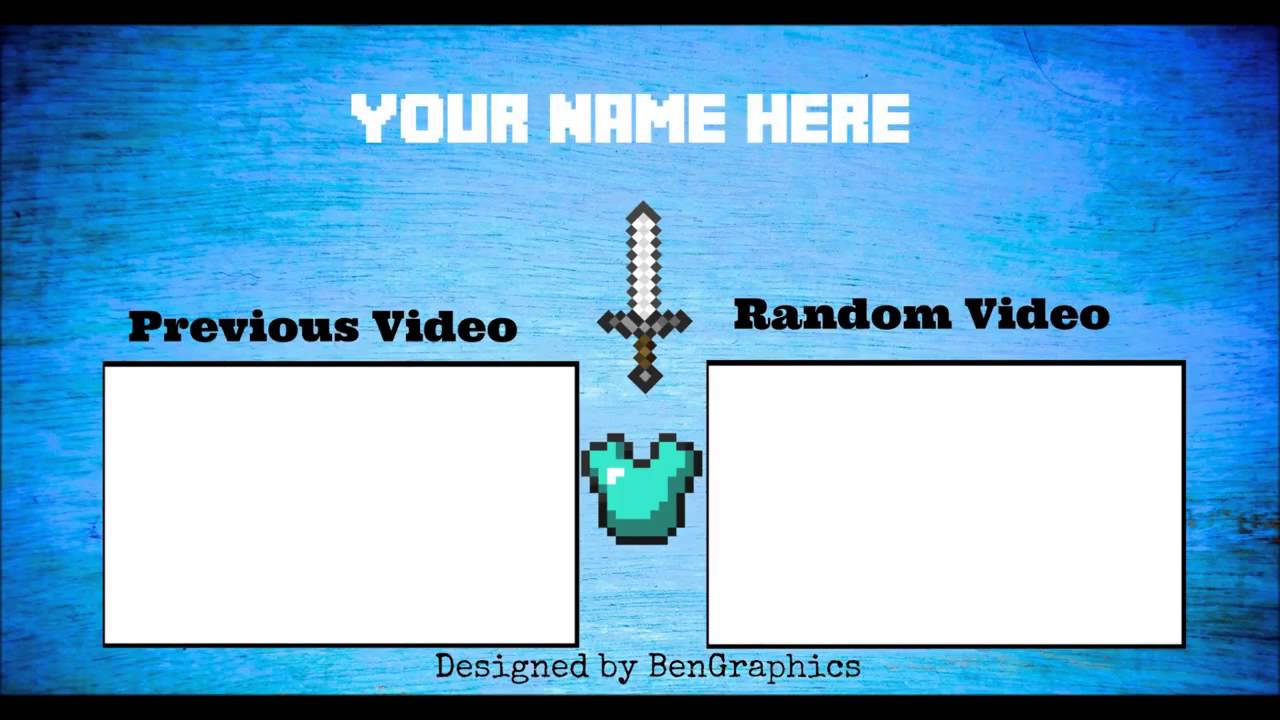 Minecraft outro template windows movie maker by for Minecraft outro template movie maker