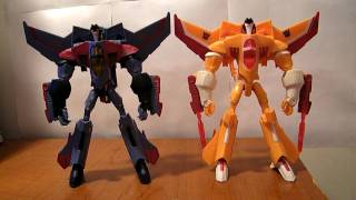 Transformers Animated Voyager Sunstorm Review