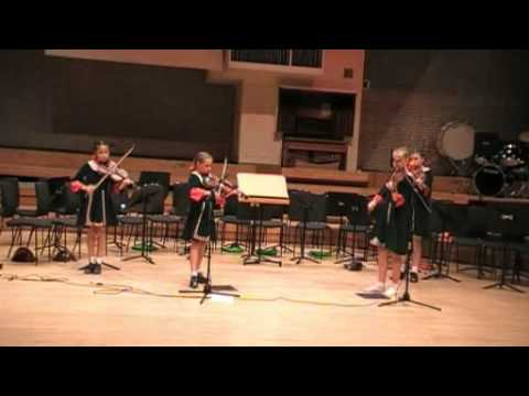 Fosbrooks Juniors at Royal Northern College of Music, Manchester