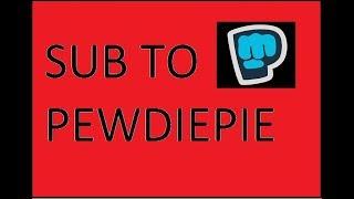 PEWDIEPIE NEEDS OUR HELP