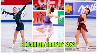 Финляндия Трофи 2021 Женщины Короткая программа Чего ждать от Валиевой Косторной и Туктамышевой