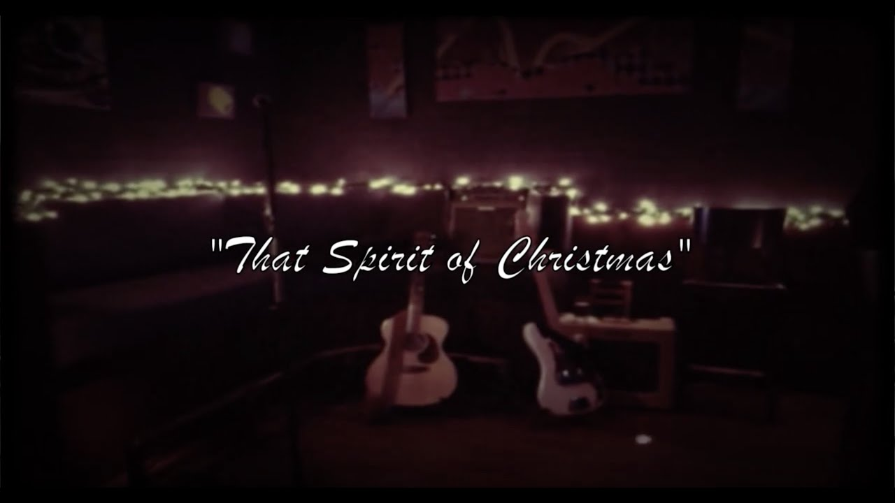 Tom Butwin - That Spirit of Christmas by Ray Charles - YouTube